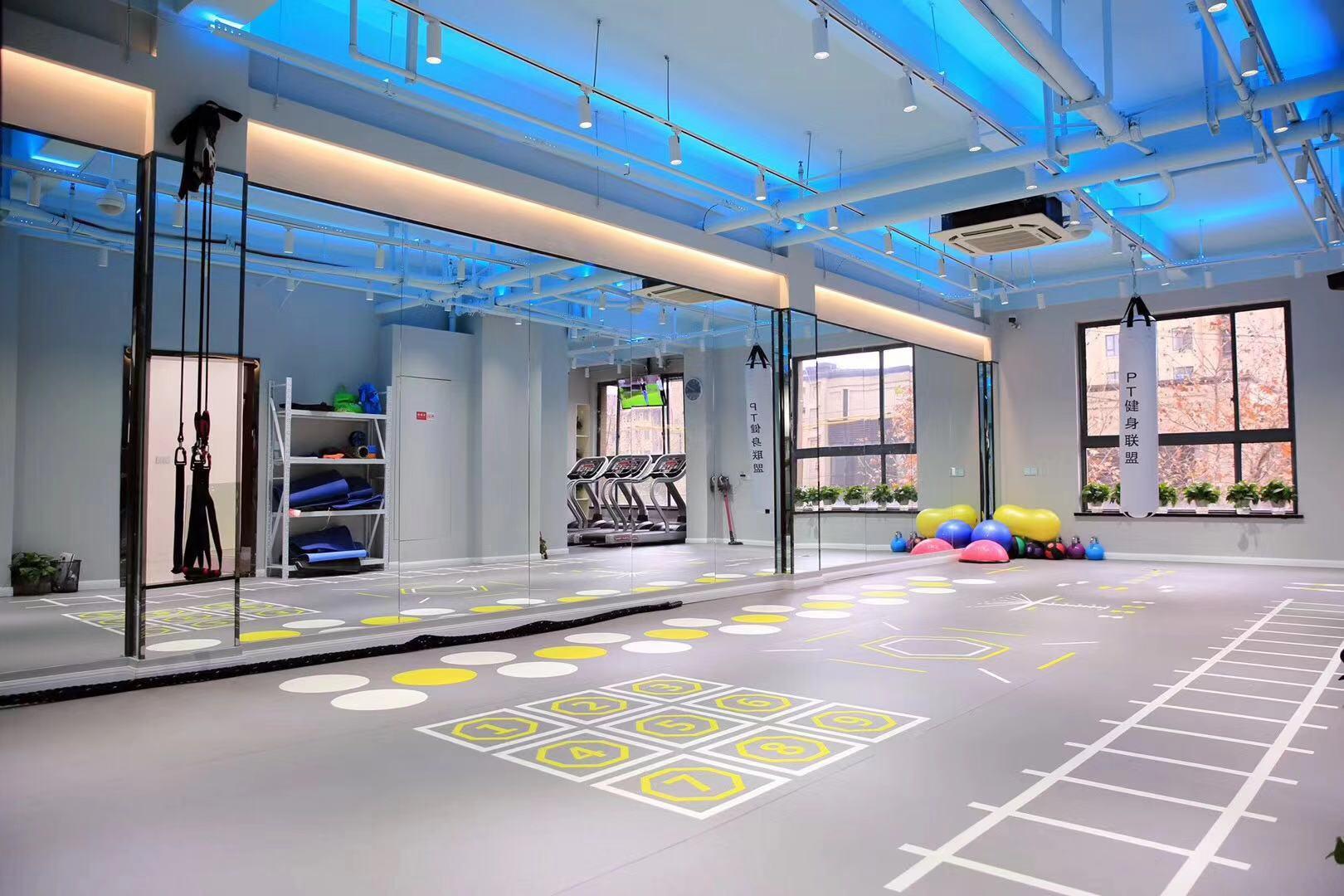康宜健身器材厂家专业设计团队3D/CAD平面摆放图纸