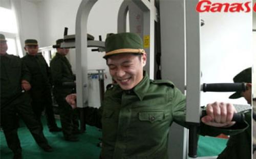 广州武警部队