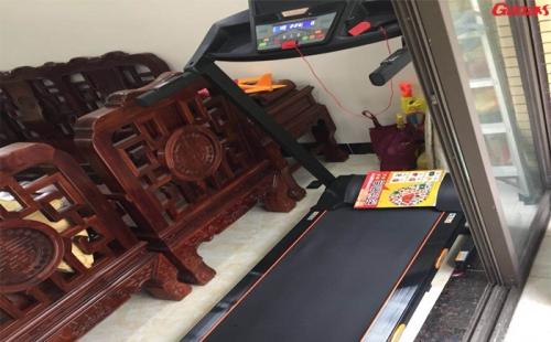 广州市番禺跑步机安装完成