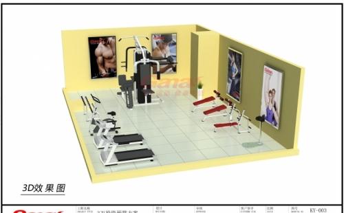 3万多健身房方案