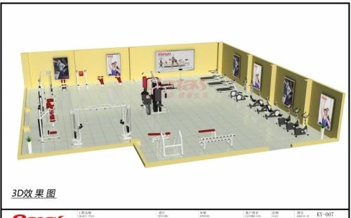 20多万健身房方案