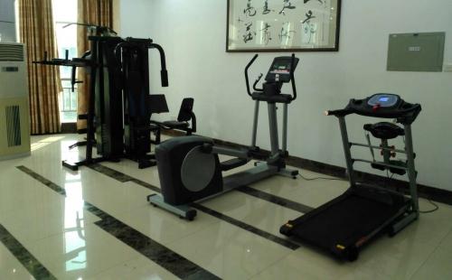 100㎡政府健身房配置方案