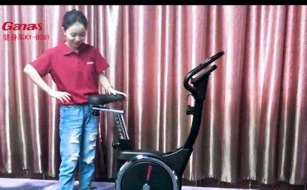 立式健身车使用介绍