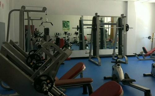 内蒙古文体局健身房