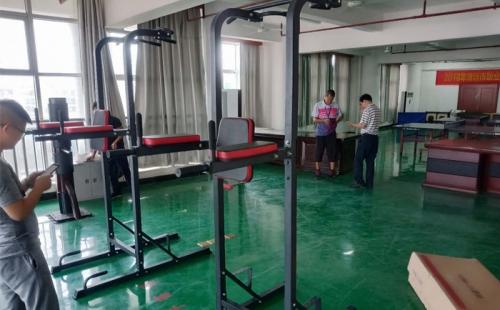 清远职业技术学院健身房