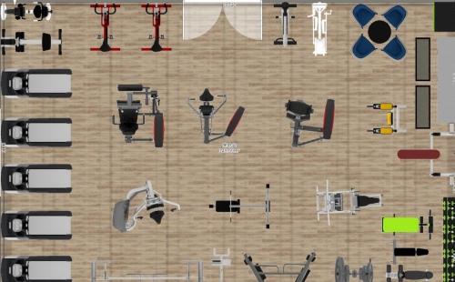 ¥129999-150㎡健身房器材套餐方案