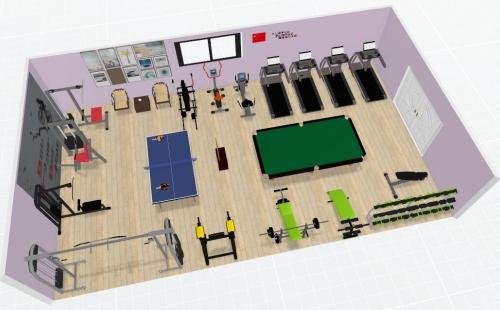 企事业单位开员工健身房的好处和健身器材解决方案