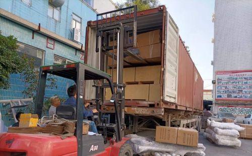 20尺柜跑步机集装箱,科威特走起!