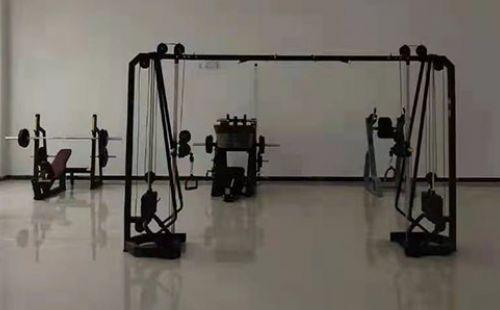 宁夏中卫公安局政府单位健身房
