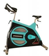 KY-2002商用动感单车 健身会所专用健身设备(黑配蓝)