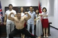 国外健身房客户
