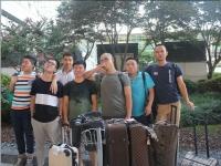 嘉纳斯众男神们到达韩国