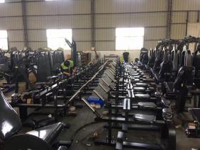 健身器材生产车间现场